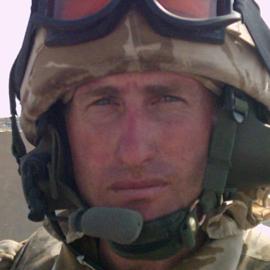Major David Bradley Headshot