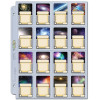 16 Pocket Folder Pages - Mini American Board Game Sleeve Size Thumb Nail