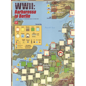 Barbarossa to Berlin Deluxe Map