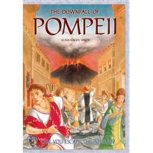 Downfall of Pompeii Board Game