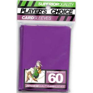 Player's Choice Sleeves - Purple - 60 Sleeves
