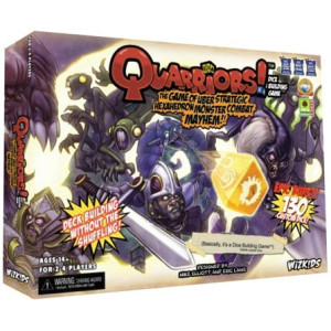 Quarriors! Dice Building Game Set-up Box