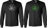 T-Shirt (Long Sleeve) (Long Sleeve T-Shirt, Circle Basket Logo)