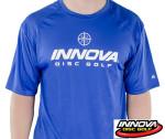 Rapid Dry T-Shirt (Short Sleeve) (Rapid Dry Single Color T-Shirt (Short Sleeve), Innova Rising Star Logo (Front) Innova Swoosh (Back))