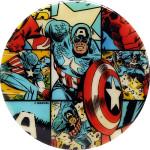 Justice (DyeMax Fuzion, Captain America - Comic Panel)