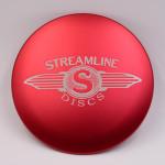 Streamline Discs 10.5 cm Metal Mini (Standard Metal Mini, Streamline Wings Stamp)