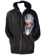 Zip-Up Hoodie Sweatshirt (Men's Zip-Up Hoodie, Retrospect Graphic)
