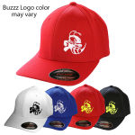 Discraft Buzzz Logo Flex Fit Baseball Cap (Rapid Dry Flex Fit Mesh Baseball Cap, Buzzz Logo (Front left) and Discraft (Back))