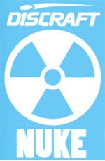 Nuke Logo (Small Nuke Vinyl Logo, Nuke Logo)