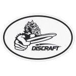 Window Decal (Oval Sticker, Crank Logo)