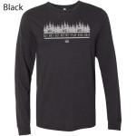 Dynamic Discs Tree Line Logo T-Shirt (Long Sleeve) (Performance Blend T-Shirt (Long Sleeve), Tree Line Logo)