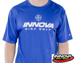 Rapid Dry T-Shirt (Short Sleeve) (Rapid Dry Single Color T-Shirt (Short Sleeve), Innova Rising Star Logo (Front) Innova Swoosh (Back))