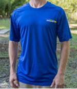 Textured Sleeve Rapid Dry T-Shirt (Short Sleeve) (Rapid Dry T-Shirt (Short Sleeve), Innova Profile Logo)