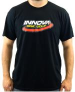 Innova Swoosh (Front) Innova Rising Star Logo (Back) DryBlend T-Shirt (Short Sleeve) (DryBlend T-Shirt (Short Sleeve), Innova Swoosh (Front) Innova Rising Star Logo (Back))