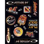 Latitude 64 Sticker Sheet (Sticker Sheet, Assorted Stickers)