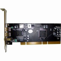 PYRO AV | 3-Port FireWire-800 PCI Host Card