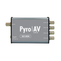 PYRO AV   3G14DA Triple Rate 4-Port Distribution   PVC-924