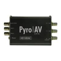 PYRO AV   HD10DAC Multi-Rate 10-Bit HD/SD-SDI to   PVC-930