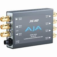 AJA 3GDA 1x6 3G HD-SDI, HD-SDI & SDI Reclocking Distribution Amplifier |3GDA|