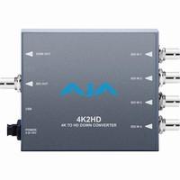 AJA 4K2HD 4K/UHD to 3G/HD/SD-SDI and HDMI Downconverter |4K2HD|