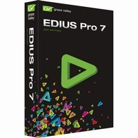 Grass Valley EDIUS Pro 7 Nonlinear Editing Software (Retail Box)