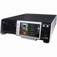 Grass Valley T2 Express Intelligent Digital Disk Recorder with 2 500GB HDDs