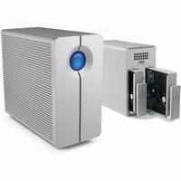 LaCie 10TB 2big Quadra USB 3.0 2-Bay RAID Array