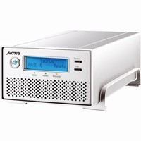 Akitio 2TB (2 x 1TB) Taurus Mini Super-S3 LCM External Enclosure