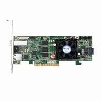 Areca 4+4 port 12Gb/s SAS PCIe 3.0 (x8) Dual Core RAID Controller