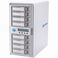 CineRAID Areca 16TB (8 x 2TB) 8-Bay SAS/SATA RAID Enclosure with Thunderbolt (Diskless)