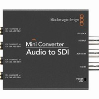 BlackMagic Design Mini Converter - AUDIO to SDI (PS INC) |CONVMCAUDS|