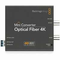 Blackmagic Design Mini Converter Optical Fiber 4K |CONVMOF4K|