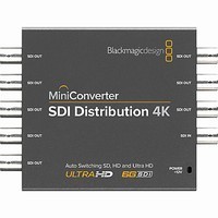 Blackmagic Design Mini Converter - SDI Distribution 4K |CONVMSDIDA4K|