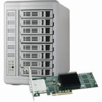 Sonnet Fusion DX800RAID Storage System with Controller (16TB) |FUS-DX8SR-16TB|