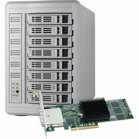 Sonnet Fusion DX800RAID Storage System with Controller (32TB) |FUS-DX8SR-32TB|