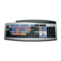 Logic Keyboard | Classic Keyboard for Avid | LKBU-MCOM-CHBC-US