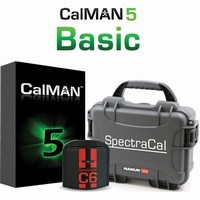 SpectraCal CALMAN BASIC WITH C6 COLORIMETER