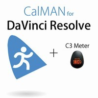 SpectraCal CalMAN Monitor Calibration Software for Resolve with C3 Colorimeter