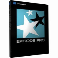 Telestream Episode Pro 6 for Mac with Pro Audio Option (Upgrade from Episode Pro 5)
