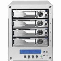 Proavio Desktop 4-Drive 16TB (4x4TB) cable-less USB3.0, FireWire800, eSATA Storage