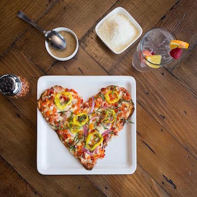 Where To Get Heart Shaped Pizzas On Valentine S
