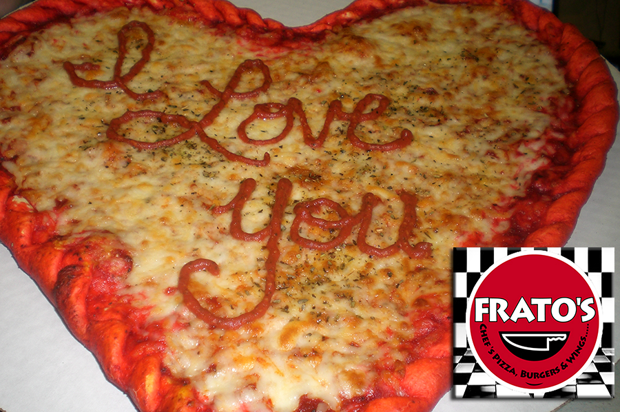 where to get heart-shaped pizzas on valentine's, Ideas
