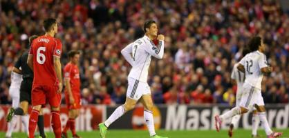 Berita Hot: Jalannya Laga Babak I Liverpool Vs Real Madrid Benzema