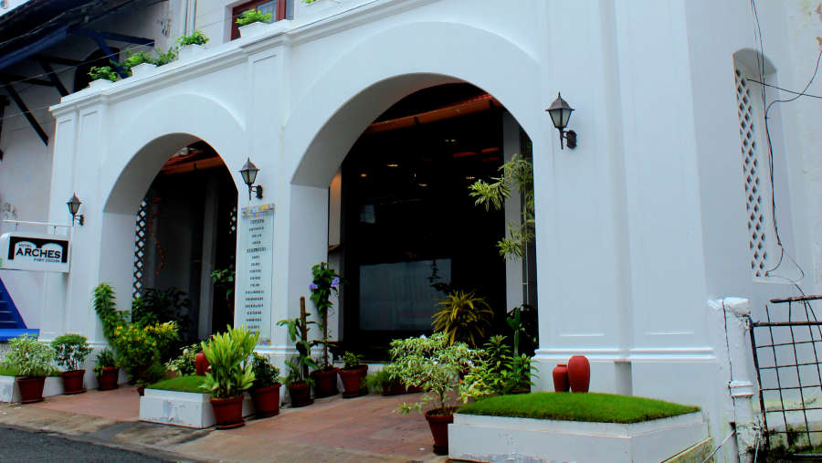 Hotel Arches, Fort Kochi Kochi exterior view 2 Hotel Arches Fort Kochi