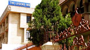 Hotel Legend Inn  Facade Hotel Legend Inn New Delhi