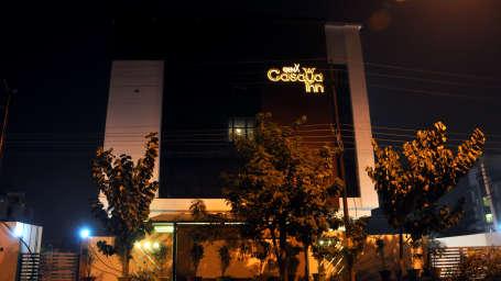 GenX Hotels India  Facade of GenX Casaya Inn Hotel Lucknow
