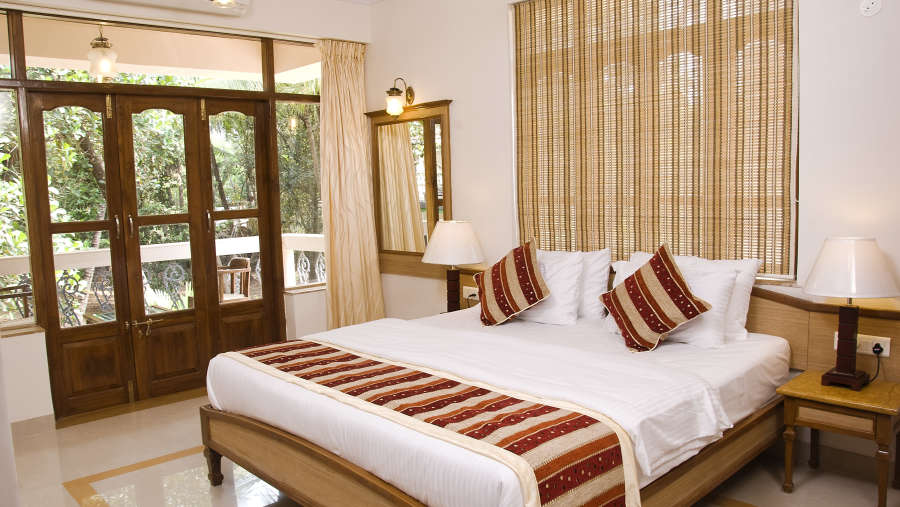 Ocean Palms Goa Palm Pool View Room 4 Ocean Palms Hotel Goa