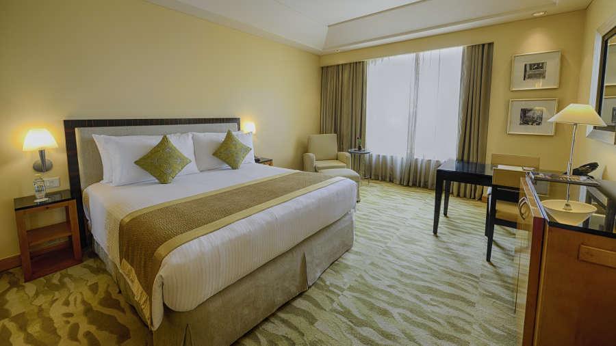 The Grand New Delhi New Delhi Grand Club Room at The Grand New Delhi Hotel on Nelson Mandela Road