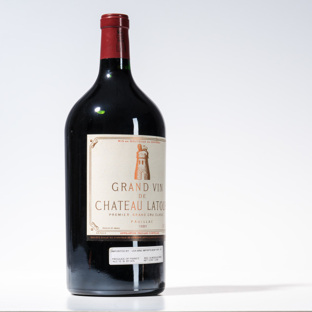 Chateau Latour 1981, 1 double magnum (Provenance: From a New England Cellar) (Lot 1042)