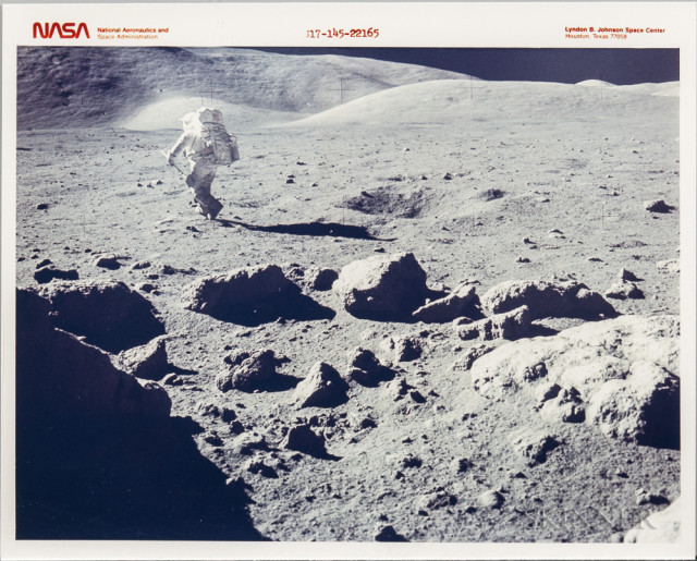 Apollo 17, Lunar Landscape, Panoramic View, Twelve Photographs (Lot 1318, Estimate: $800-1,200)
